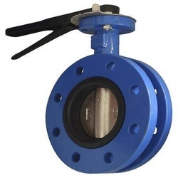 flanged batterfly valve