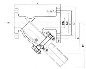 y-type-strainer-valve